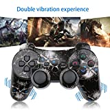 CHENGDAO PS3 Controller 2 Pack Wireless Dual