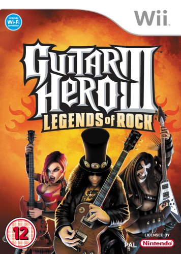 Guitar Hero III: Legends of Rock – Game Only (Wii) by ACTIVISION