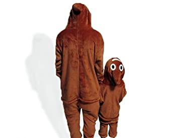 Amazon.com: NHockeric Unisex Adult Kids Poo Emoji Pajamas Emoticon Onesie Costume Sleepwear: Clothing
