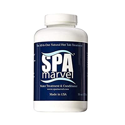 Spa Marvel Conditioner 6 Month 2 Pack (Bundled with Pearsons Scumball Absorber) : Garden & Outdoor