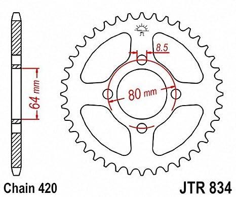 JT Sprockets JTR834.35 35T Steel Rear Sprocket