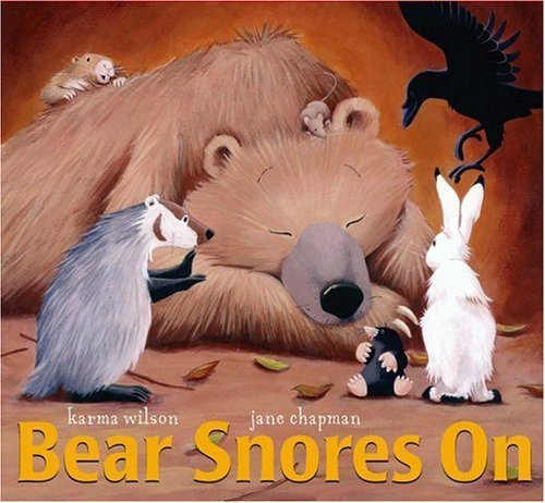 Bear Snores On (Classic Board Books) by Wilson, Karma (unknown Edition) [Boardbook(2005)]