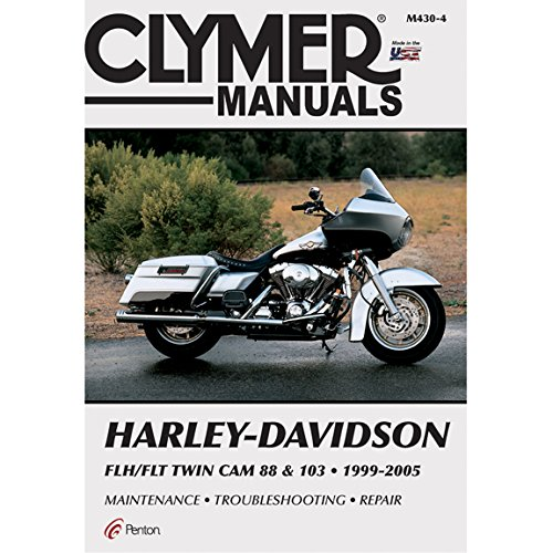 Clymer Repair Manual for Harley FLH FLT Twin Cam 88 99-05 by Clymer (Image #1)
