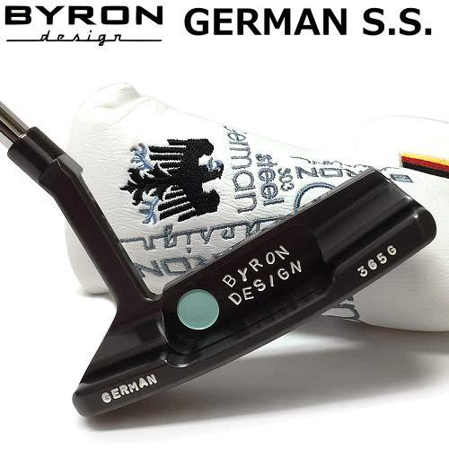 (バイロンデザイン)BYRON DESIGN German S.S. (GSS) パター アンサー2 ツアーオンリー 365G クロマティックブロンズ仕上げ 34インチ仕様   B078H7G2PC