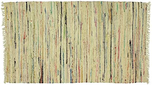 Sturbridge Country Rag Rug in Honey 24 x 36