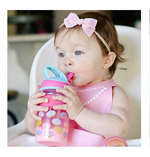 Nuby Thirsty Kids Flip-it Freestyle On The Go Water Bottle w