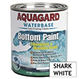 1 - Aquagard Waterbased Anti-Fouling Bottom Paint - 1Qt - Shark White