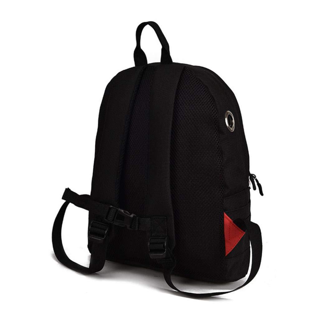 Clearance Sale Kids Boy Girl Cartoon Shark Preschool Backpack School Bookbags Shoulder Bag (L, Black) by Vicbovo (Image #4)