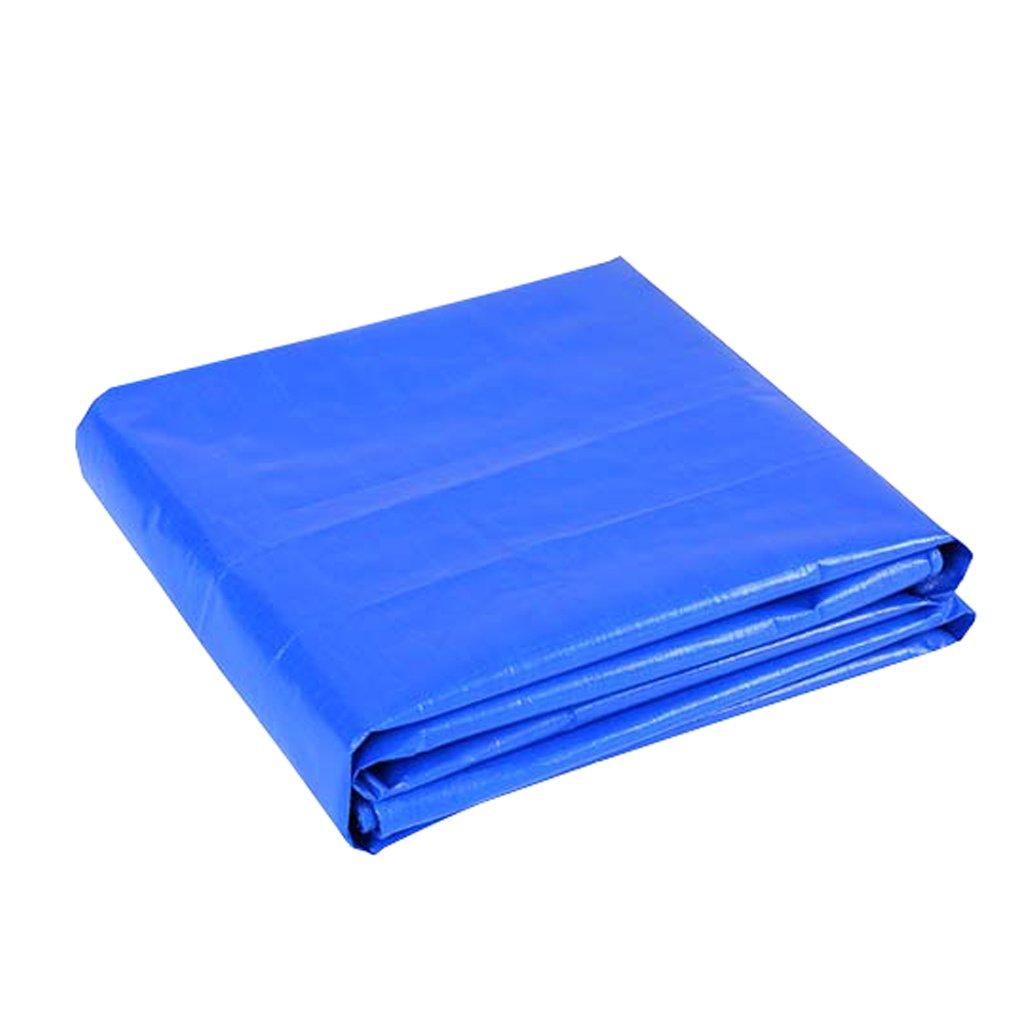 DIKA UK lonas para piscinas rectangulares / Blue Tarpaulin Sheet Tarps Poncho multifunción para acampar Pesca Jardinería Protección solar Resistencia al frío, espesor 0.3MM, 160G / m², 20 Tamaño disponible LAXF-Lonas