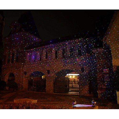 Christmas Laser Lights Halloween Outdoor Projector