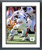 Bo Jackson Auburn Tigers NCAA Football Action Photo (Size: 12.5'' x 15.5'') Framed