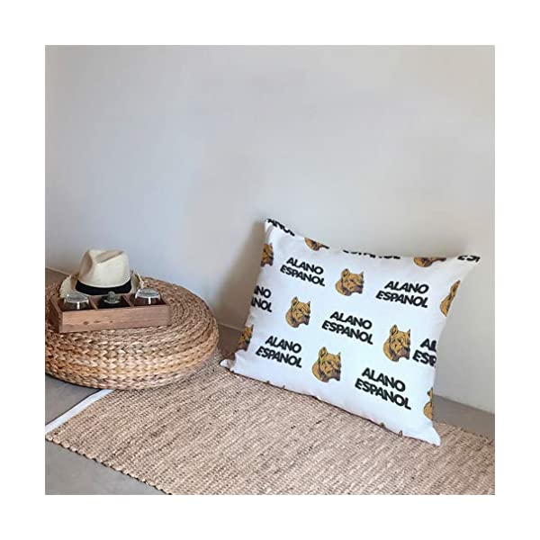 Personalized Pillow Case Alano Espanol Dog Breed Style A Polyester Pillow Cover 20INx28IN Design Only Set of 2 5
