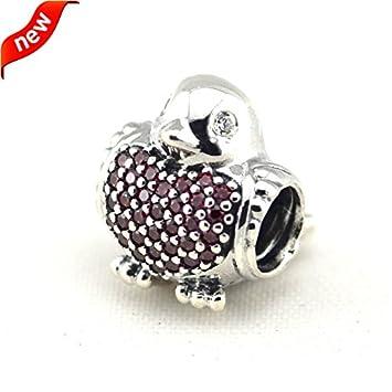 f0c6a6662 Amazon.com: Fits Pandora Bracelets Jewelry 100% 925 Sterling Silver ...