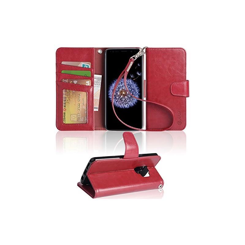 Galaxy S9 Case, Arae [Kickstand Feature]