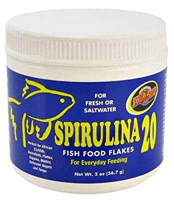 Zoo Med Spirulina 20 Flake Fish Food