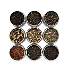 Our Organic Loose Tea Sampler is a great way to try a variety of teas. It has 9 of our best selling teas and packaged in a beautiful gift box. All of our teas use 100% natural ingredients and never use any artificial flavorings or dangerous c...