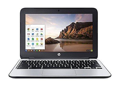 HP Chromebook 11 G3 11.6-inch Intel Celeron N2840 2GB 16GB SSD Storage Google Chrome OS Notebook Laptop