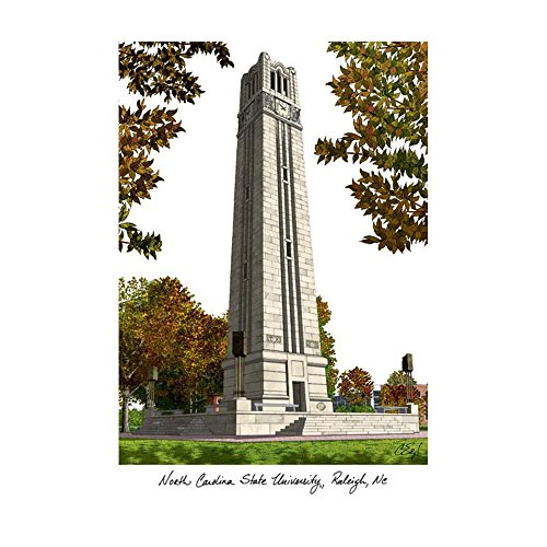 - Campus Images Sports Team Logo Design North Carolina State University Campus Images Lithograph Print