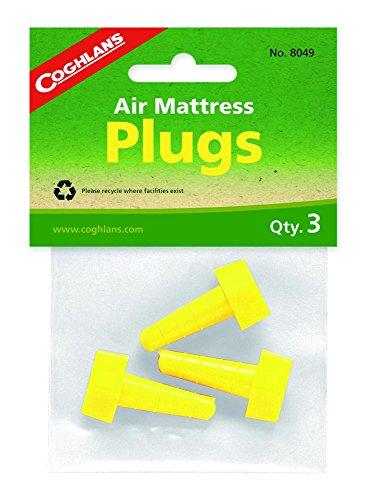 Pack Of 3 Coghlan's Air Mattress Plugs - Plug For Air Mattress