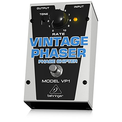 Behringer Vintage Phaser VP1 Authentic Vintage-Style Phase Shifter Instrument Effects Pedal