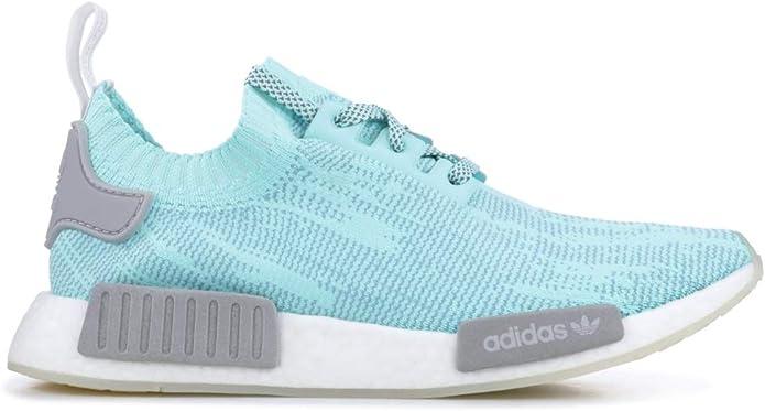 adidas Men/'s NMD R1 PK B43523 Energy Aqua//Grey//Cloud White Running Shoes