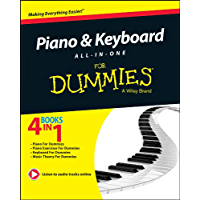 Piano and Keyboard All-in-One For Dummies (For Dummies Series) (English Edition)