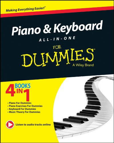 Price comparison product image Piano and Keyboard All-in-One For Dummies (For Dummies Series)