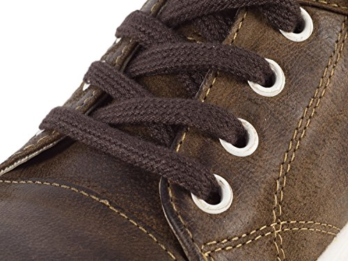 Rustik rustik Chercher Loup Sneaker Les Hommes Brun Julian Brun qIPTzIw