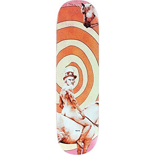検体カエルディスパッチPolitic Mr魚Uncle Samスケートボードデッキ- 8.25デッキのみ(ハードウェアフリー1