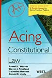 img - for Acing Constitutional Law (Acing Law School) (Acing Series) book / textbook / text book