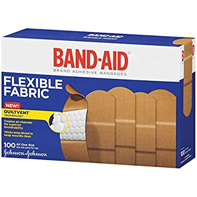 Band-Aid Brand Adhesive Bandages Flexible Fabric from Band-Aid
