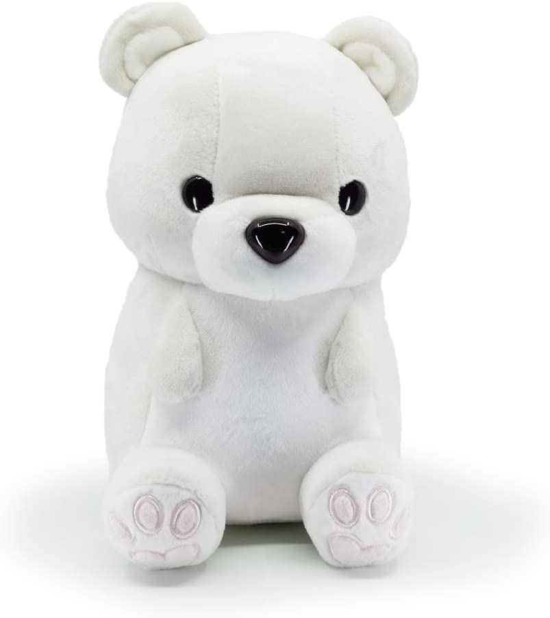 Bellzi Polar Bear Cute Stuffed Animal Plush Toy - Adorable Soft White Teddy Bear Toy Plushies and Gifts - Perfect Present for Kids, Babies, Toddlers - Poli