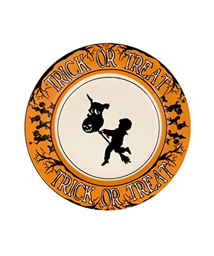 Bethany Lowe Trick or Treat Appetizer Plate by Bethany Lowe