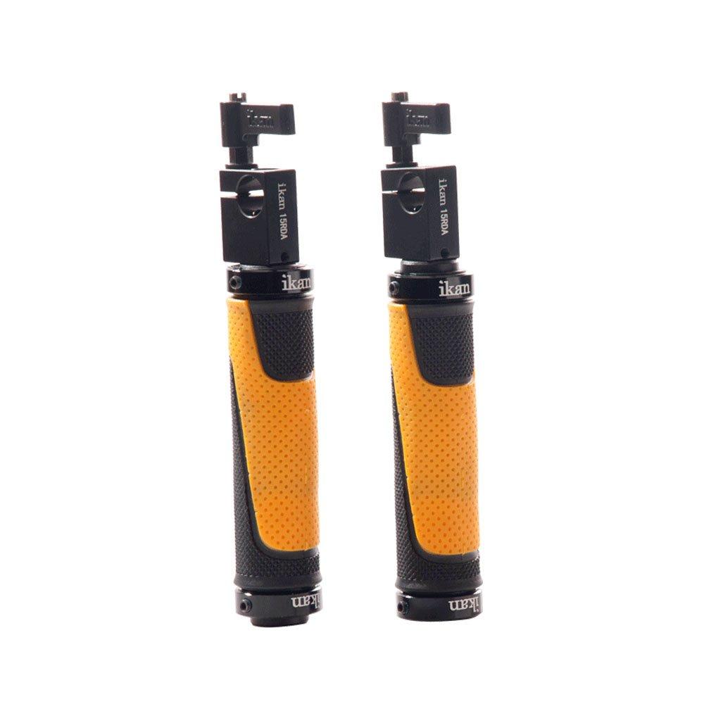 Ikan HB135-GC 135mm EV2 Grip Handles (Black) by Ikan