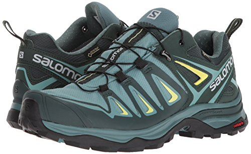 Salomon Women's X Ultra 3 GTX Trail Running Shoe, Artic, 5 M US by Salomon (Image #5)