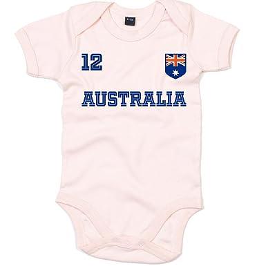 Australien Weltmeisterschaft 2018#24 Premium Babybody Fan Trikot ...