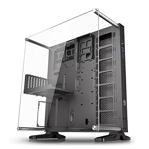 Thermaltake Core P5 Black Edition ATX Open Frame Panoramic Viewing Tt LCS Certified Gaming Computer Case ()
