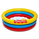 Fisher Price 3-Ring Fun And Colorful Ball Pit Pool For Ages 2 And Up | 93501E-BW