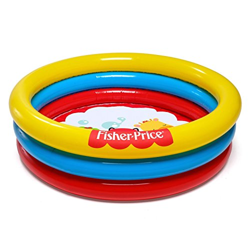 Bestway 93501 Fisher-Price Paddling Pool with 25 Ball Toys