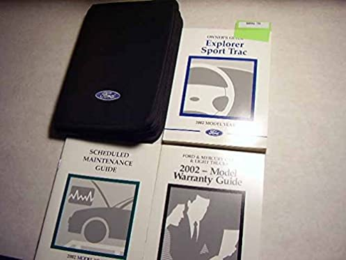 2002 ford explorer sport trac owner s manual original ford amazon rh amazon com 2002 ford explorer owners manual pdf free 2002 ford explorer owners manual pdf