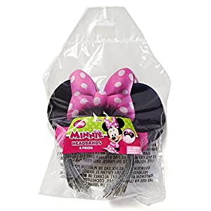 American Greetings Minnie Mouse Bowtique Party Hat, Pack of 8, Party Supplies