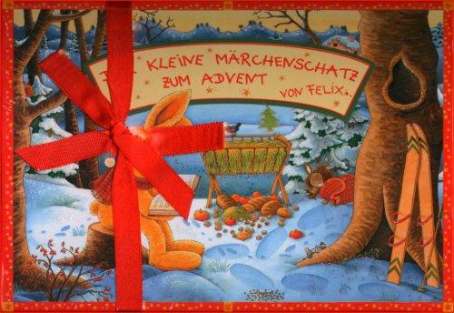 Felix - Der kleine Märchenschatz zum Advent: Schatzbox mit 24 Briefen