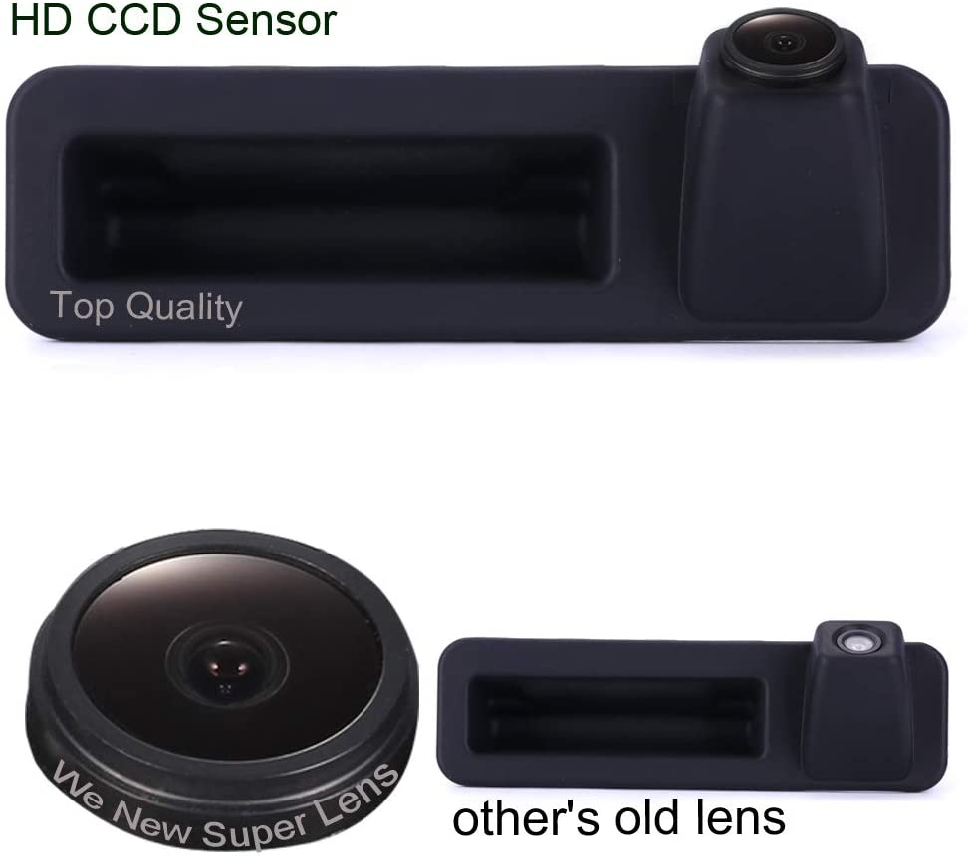 Dynavsal Griffleiste Auto Kamera 1280 720 Pixel 1000tv Linien Hd Objektiv Wasserdicht 170 Super Weitwinkel Rückfahrkamera