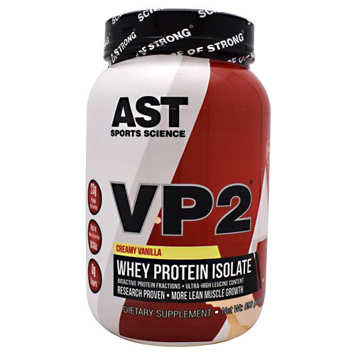 (AST VP2 Whey Protein Isolate, Creamy Vanilla, 2-Pounds)