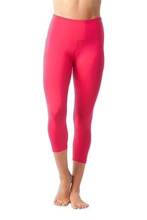 6a2ff511b7 90 Degree By Reflex - High Waist Tummy Control Shapewear - Power Flex  Capri: Amazon.co.uk: Clothing