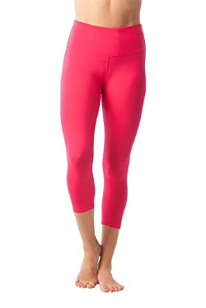 1d09245154 90 Degree By Reflex - High Waist Tummy Control Shapewear - Power Flex Capri:  Amazon.co.uk: Clothing