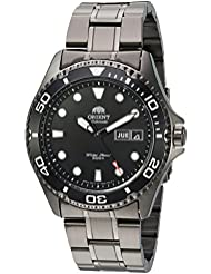 Orient Mens Ray Raven II Japanese Automatic Stainless Steel Casual Watch, Color:Black (Model: FAA02003B9)