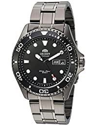 Orient Men's 'Ray Raven II' Japanese Automatic Stainless Steel Casual Watch, Color:Black (Model: FAA02003B9)