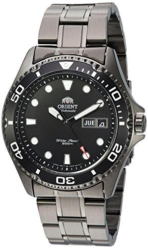 Orient Men's 'Ray Raven II' Japanese Automatic Stainless Steel Casual Watch, Color:Black (Model: - 2 The Ray