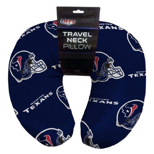 Northwest NFL Houston Texans Beaded Spandex Neck Pillow ()